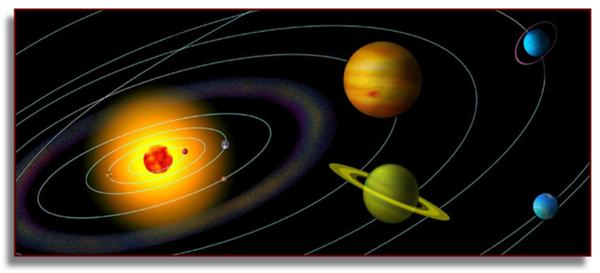 Planets Revolving Around The Sun Gif - Pics about space