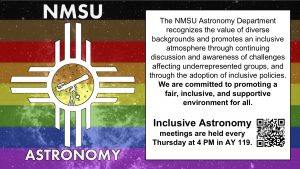 Colloquium: Safe Zone Training (Host: Inclusive Astronomy Group) @ BX102