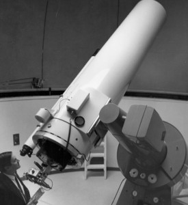Bradford Smith at the Tortugas Mountain 24-inch Telescope