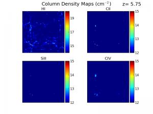 Finlator et al. explores cosmic reionization