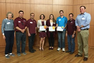 Astronomy Department Students Excel in 3-Minute Thesis Competition